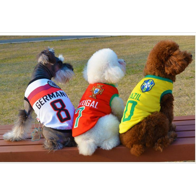 World Cup Dog Clothes