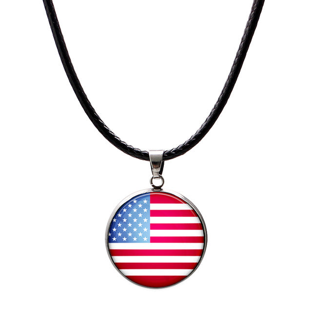 National Flag Necklaces