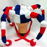 Flag Colored Clown Hat