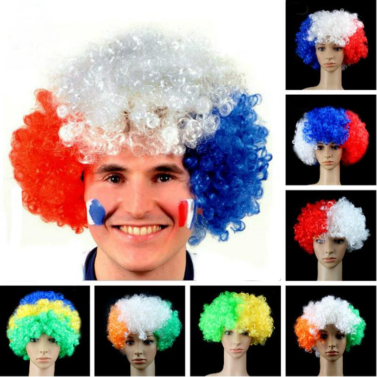 National Flag Wigs