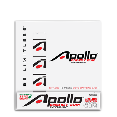 Apollo Energy Gum® 5-Sleeve
