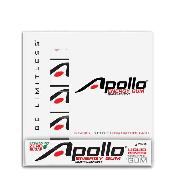 Apollo Energy Gum 5-Sleeve