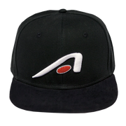 Apollo - 'A-icon' Snapback Hat BLACK