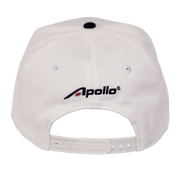 Apollo - 'A-icon' Snapback Hat WHITE
