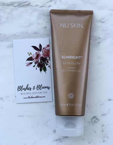 Insta Glow Tanning Gel - Blushes & Blooms