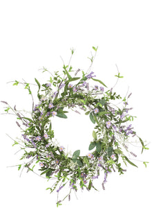 LAVENDER WREATH - Blushes & Blooms