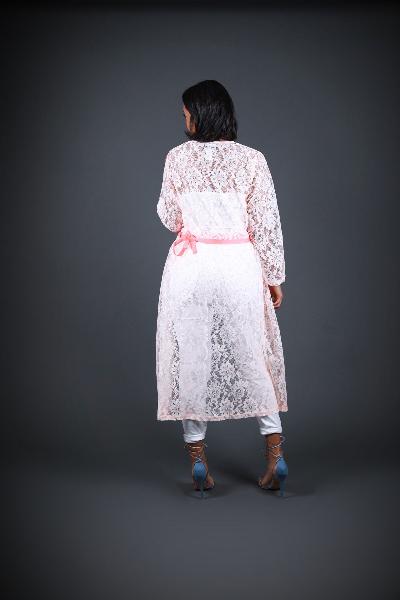 Floral Lace Duster - EVERYTHING BLOSSOMS BOUTIQUE