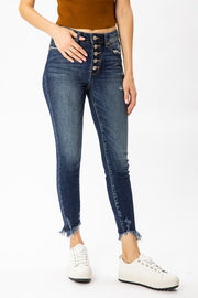 Kancan High Rise Lola Jeans (Dark Wash)