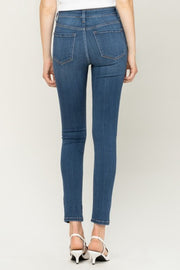 Flying Monkey High Rise Butter Jeans (Mid Wash)