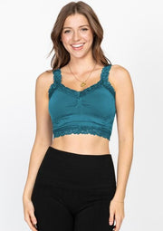 M Rena Lace Crop Cami (13 colours)