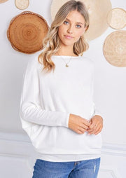 Jolie All Day Slouch Sweater (Ivory)