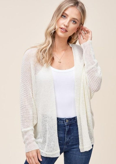 Staccato Summer Breeze Cardigan (Ivory)