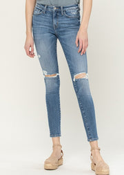 Flying Monkey Double Distressed Skinny