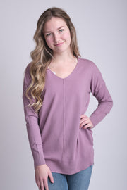 Dreamers Comfy As Can Be Sweater (Lilac)
