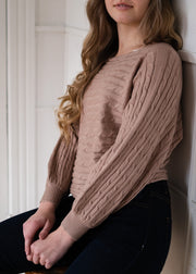 My Cozy Belle Sweater (Mocha)
