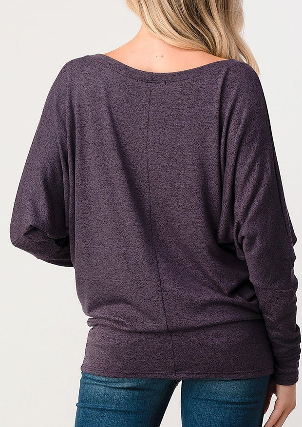Natural Vibe Knit Long Sleeve (Raisin)