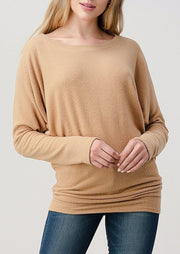 Natural Vibe Brushed Top (Honey)
