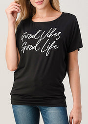 Natural Vibe Good Vibes Tee