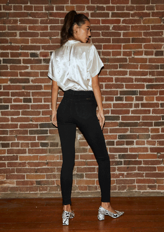 Kancan Jet Black Jegging