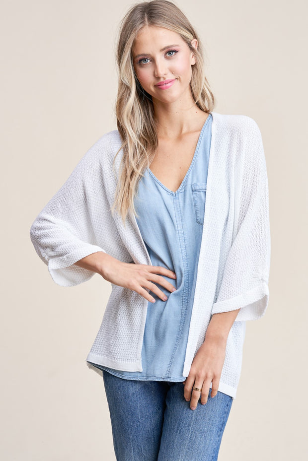 Staccato Ariel Cardigan (Pearl)
