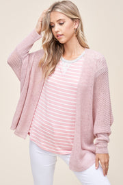 Staccato Summer Breeze Cardigan (Blush)
