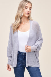 Staccato Summer Breeze Cardigan (Periwinkle)