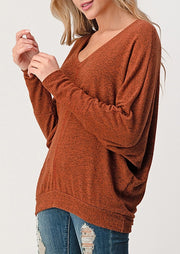 Natural Vibe Everyday Pullover (Rust)