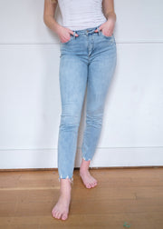 Silver Isbister Light Wash Jean