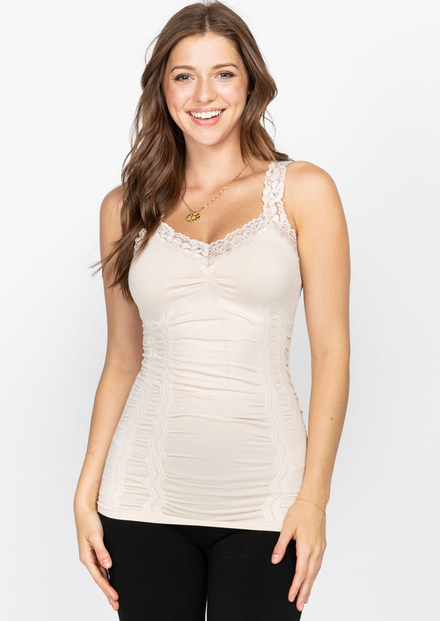 M Rena Full Length Lace Cami (14 colours)