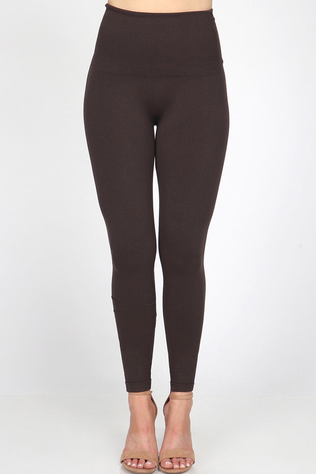 M Rena Tummy Tuck Legging (Brown)