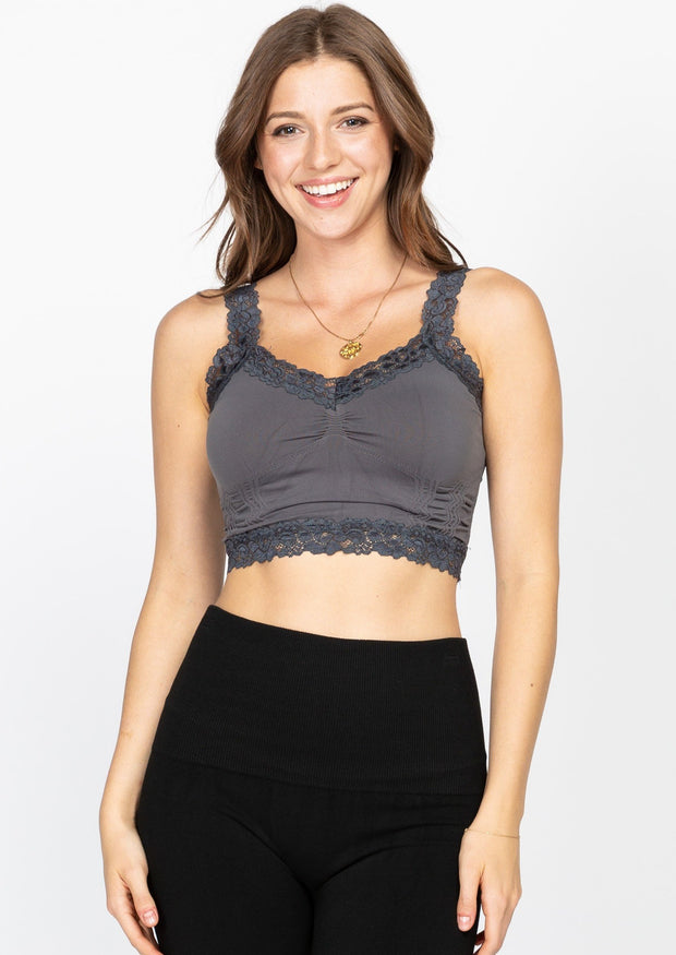M Rena Lace Crop Cami (16 colours)