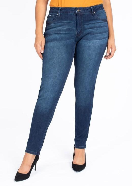 Kancan Plus Size Kelly Skinny Jeans