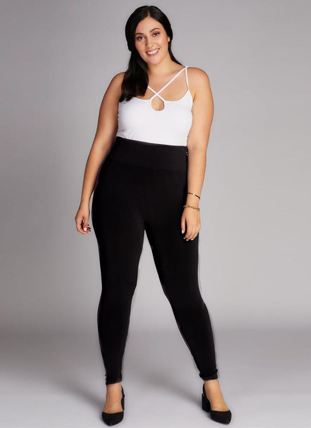 Bamboo Plus Size High Rise Legging