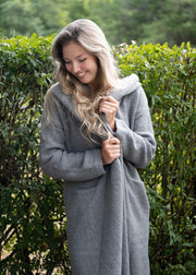 Lovestitch Coatigan (Grey)