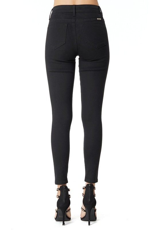 Kancan High Rise Black Jet Jeans