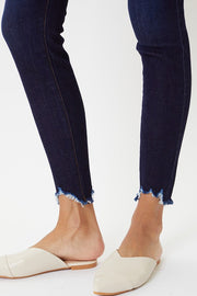 Kancan Super High Rise Button Skinny