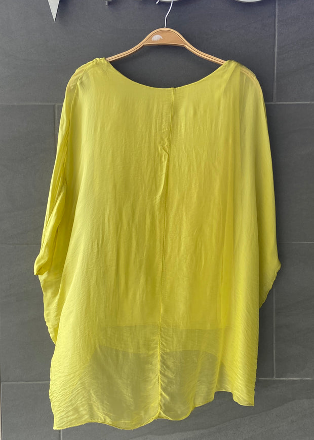 Natalie Blouse (Yellow)