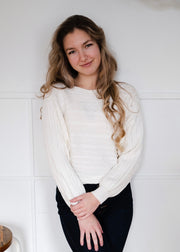 My Cozy Belle Sweater (Ivory)