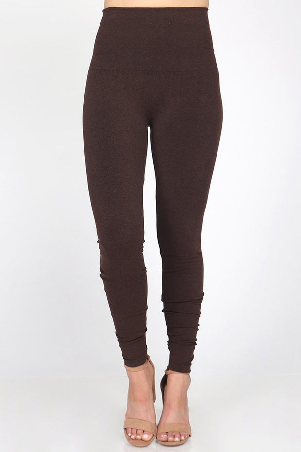 M Rena Tummy Tuck Legging (Heather Chocolate)