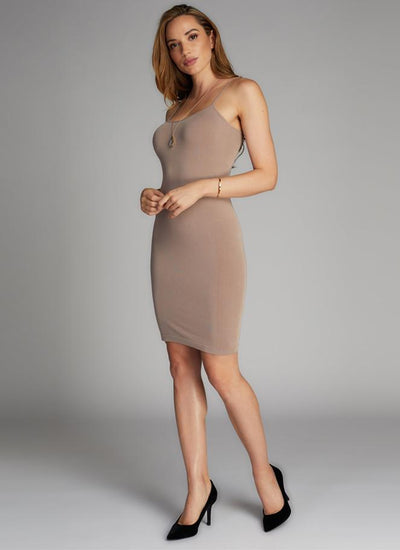 C'est Moi Bamboo Cami Layering Dress (2 colours)