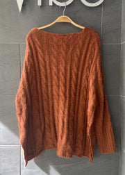 My Cozy Hot Cocoa Sweater (Camel)