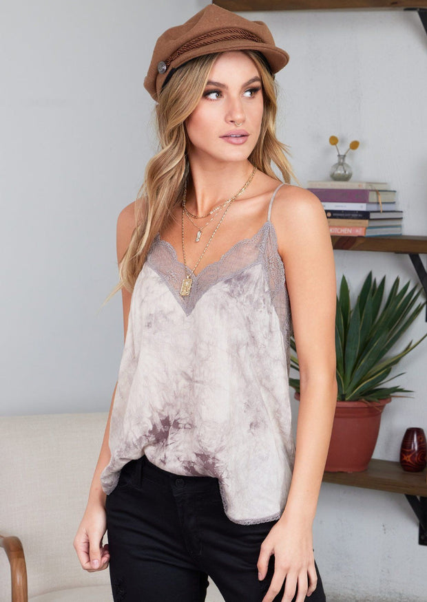 Lovestitch Lace Cami (Cement)