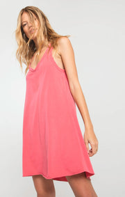 Z Supply Avery Jersey Dress (Tea Rose)