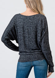 Natural Life Brushed Top (Black)