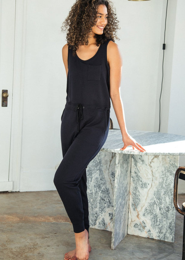 Thread & Supply Perry Jumpsuit (Black)