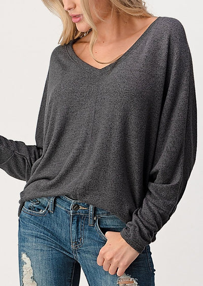 Natural Vibe Everyday Pullover (Charcoal)