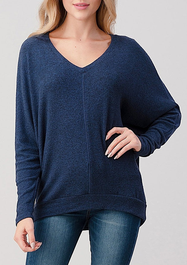 Natural Vibe Everyday Pullover (Navy)