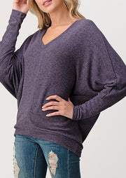 Natural Vibe Everyday Pullover (Raisin)