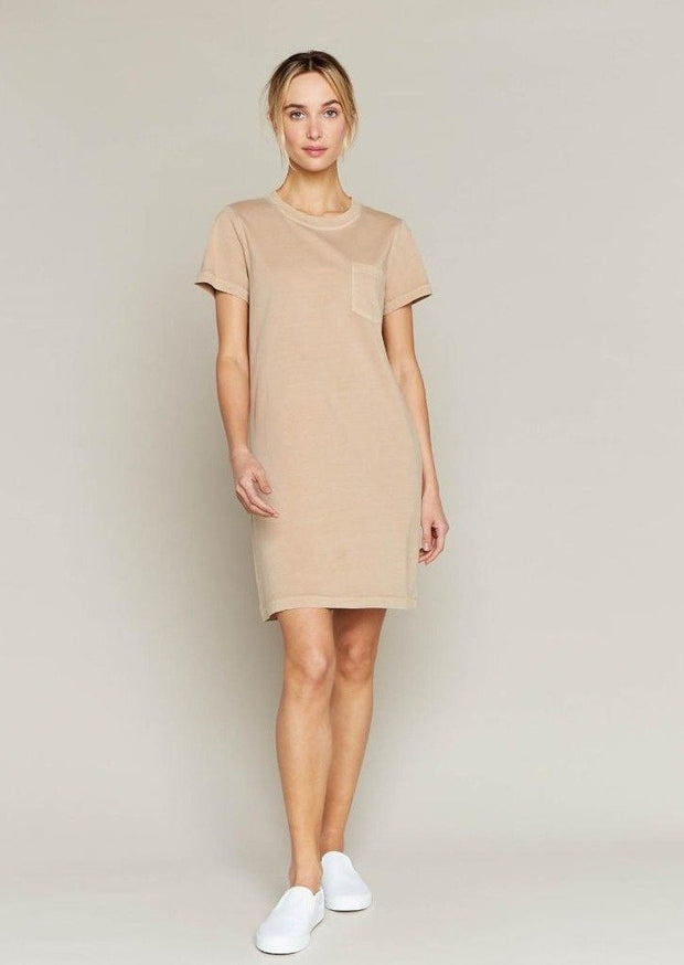 Thread & Supply Kick Back Dress (Sandstone)