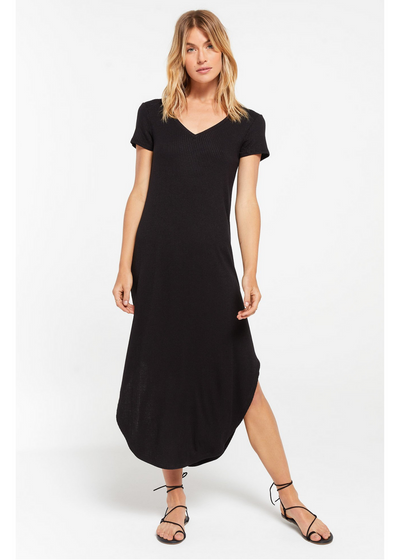 Z Supply Ribbed Maxi Dress